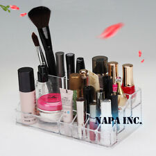 Acrylic Makeup Cosmetic Organizer Lip Gloss Nail Polish Holder Stand Storage Box