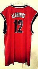 Adidas NBA Jersey Portland Trailblazers LaMarcus Aldridge Red sz 2X