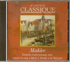 CD CLASSIQUE * MARSHALL CAVENDISH 25 * MAHLER- EXTRAITS SYMPNONIQUES