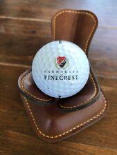 Logo Golf Ball Canongate At Pinecrest South Carolina