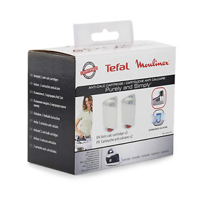 Tefal Anti-Calc Cartridge for Purely and Simply SV5021 - 2 Pack