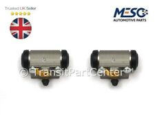 PAIR OF NEW REAR BRAKE WHEEL CYLINDERS FORD TRANSIT CONNECT 2002-2013
