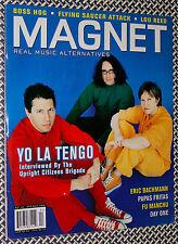 MAGNET Magazine, YO LA TANGO, LOU REED, Papas Fritas, Eric Bachmann