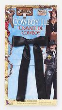 Cowboy  Western String Tie Colonel Sanders Black Tie  Costume Accessory