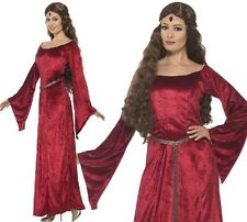 Smiffys 44682L Women's Medieval Maid Costume (large)