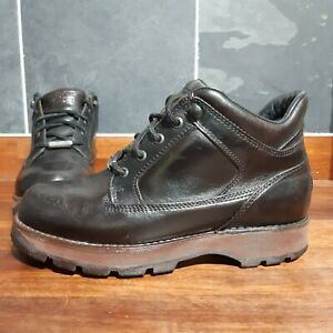 Rockport XCS Leather Boots - UK Size 7 - Made In Portugal - Dark Tan Leather
