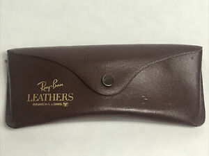 Vintage Ray-Ban Bausch & Lomb B&L  Leathers Case Only w/ Paperwork