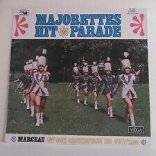 """33T MAJORETTES HIT PARADE Disque LP 12"""" MARCEAU ORCHESTRE CUIVRES - VEGA 16087"""