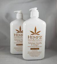 Hempz Loción de hierbas cuerpo hidratante -blueberry lavanda y camomila - 17 Fl.
