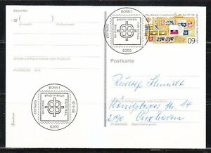 Germany 1988 FDC post card Mi 1395 Sc 1566 Bethel Christian School
