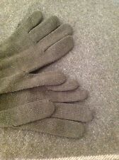 100% Wool Military Russian Officers Gloves, Military Surplus great mittens Army