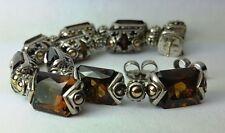 18K & Sterling Silver JOHN HARDY Smoky Quartz Earrings