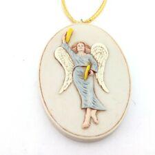 Sebastian Miniature Sml-731 Angel with Cymbals Ornament