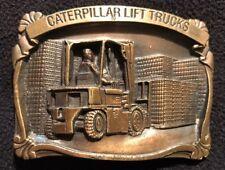 Caterpillar Tractor Caterpillar Lift Trucks Vintage Belt Buckle