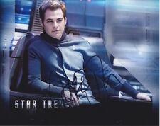 Chris Pine (Star Trek) signed authentic 8x10 photo COA (E)