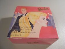 Box Only! 1995 Barbie Pretty and Pink Fossil Watch Box