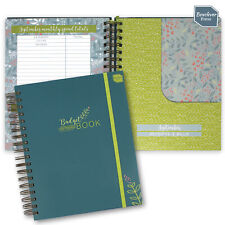 More details for boxclever press - big budget book. monthly bill accounts organiser