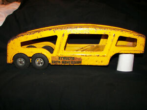 "Vintage Structo Auto Haulaway Semi Tractor Trailer Truck "" TRAILER ONLY """