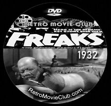 New listing Freaks (1932) Drama, Horror Movie Dvd