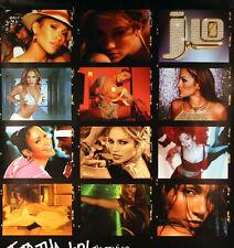 Jennifer Lopez 2002 J To Tha L-O! Promo Poster Original