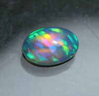 NATURAL LOOSE GEMSTONE WELO FIRE ETHIOPIAN OPAL 6X4 MM AAA OVAL SHAPE CAB