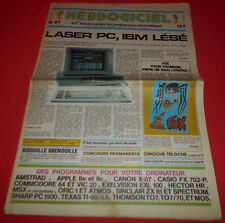 Magazine hebdogiciel [no 87 14 june 85] no tilt commodore 64 amstrad msx * jrf