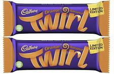 2 x Cadbury Orange Twirl Bars 43g