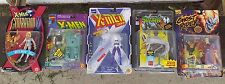 Marvel Comics Action Figures Spawn X Men X Force Ghost Rider Blackout Lot Of 5