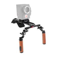 Camera Handled Shoulder Mount Rig with ARRI Dovetail Bridge Plate Handgrip