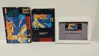 Star Fox STARFOX  -  SNES Super Nintendo AUTHENTIC Tested Working Game Complete
