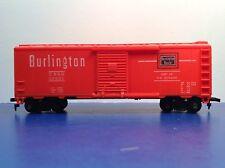 """HO Scale """"Burlington Route"""" CB&Q 62982 40' Freight Train Box Car / Sliding Doors"""