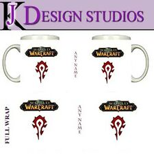 World of Warcraft Horde Personalised Gaming Mug