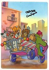 DISNEY - Oliver & Company - French Postcard D640 5/1