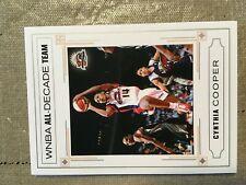 2006 WNBA All Decade Cynthia Cooper #/333