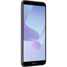 HUAWEI y6 (2018) Smartphone Cellulare 16 GB NERO DUAL SIM LTE 4g 👍 * Nuovo & Ovp * 👍