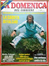 La Domenica del Corriere 24 Dicembre 1983 Falcao Connery Moore Tobagi Terracini