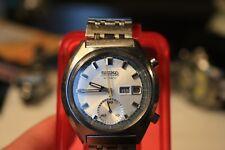 Vintage Seiko Automatic chronograph 6139-8030 Gents Men 1973 all original