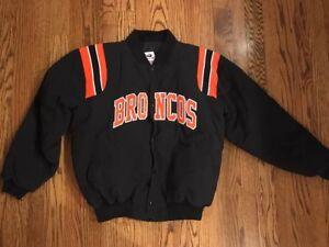 NFL Denver Broncos Unique Sales snap up Pro All Weather Jacket, size M (runs LG)