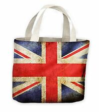 Union Jack Flag Tote Shopping Bag For Life - Football Rugby Athletics