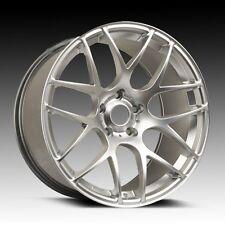 "18"" ARA Wheels Mesh 18x8.5 5x114.3 40 Offset Alloy Rims Hyper Silver"
