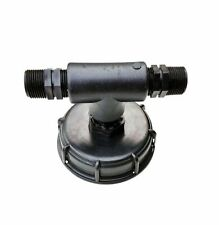 """Ibc lluvia Tank conector DN 80 T-trozo de rosca 3/4"""""""