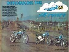"JB Racers Honda CR125 XR75 MR50 1974 Ad copy PLUS ""FREE MYSTERY GIFT!"""