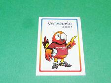 N°3 MASCOTTE PANINI FOOTBALL COPA AMERICA VENEZUELA 2007