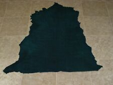 (LJZ10508-8) Hide of Forest Green Lambskin Leather Hide Skin