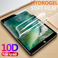 "10D Screen Protector Hydrogel Soft Film For Apple iPad Mini 5 7.9"" Pro Air 10.5"""