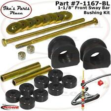 """Prothane 7-1167-BL Front Sway Bar 1-1/8"""" &End Link Bushing Kit Chevy/GMC S10-2WD"""