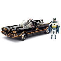 Jada Toys DC Hollywood Rides Build N' Collect 66' Batmobile Batman Set NEW