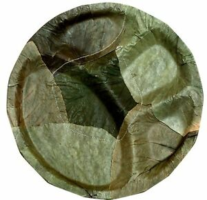 INDIAN Eco Friendly Pattal Disposable Dried Leaf Plates Party Picnic Travel 25Pc