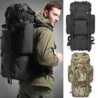 Hot 80L Shoulder Backpack Hunting Military Tactical Travel Rucksack 3 Colors Bag