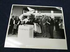 Filene's Executives releasing doves Vintage Glossy Press Photo